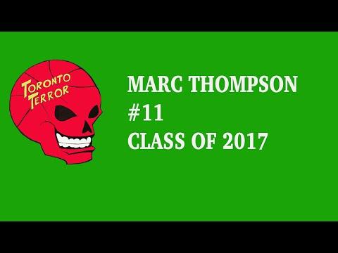 Marc Thompson Class of 2017