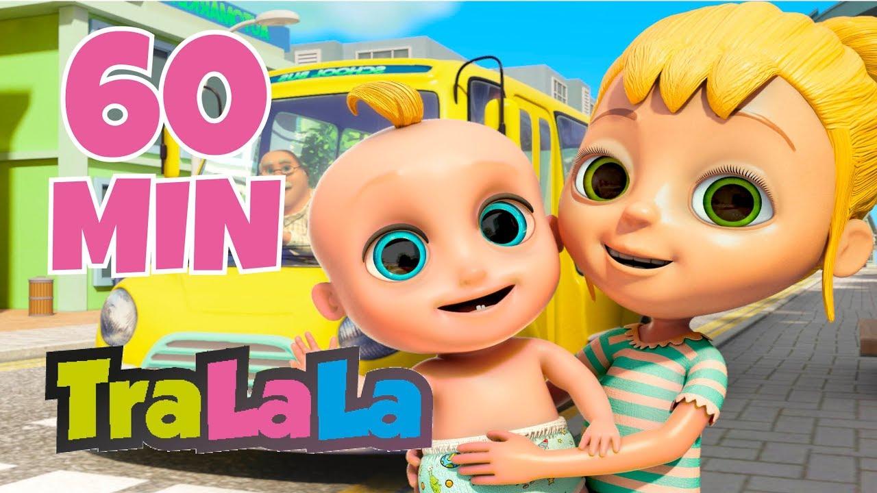 Roțile autobuzului - Cântece pentru copii | TraLaLa
