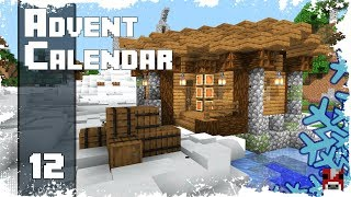 Minecraft Timelapse Advent Calendar - 12 - LAKESIDE COTTAGE