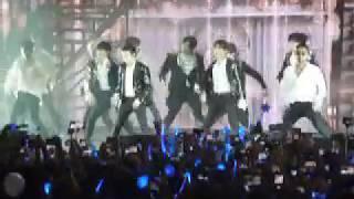 Super Junior in Argentina - Black Suit