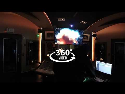 A Danjarous World 360° Danja Makes A Beat In His Studio (360 Video)