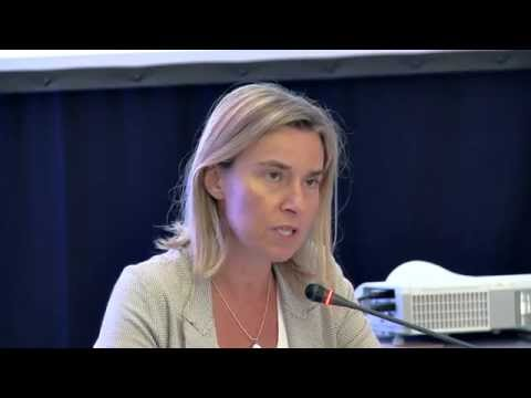 """Panel 2 """"EU foreign policy and the Bulgarian perspective"""" with HR Federica Mogherini  - part 4"""