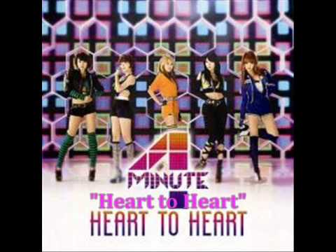 [MP3 DOWNLOAD] 4Minute- Heart to Heart w/ Romanized & English Lyrics