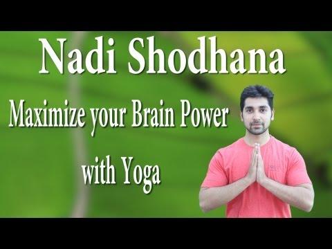 Nadi Shodhana Yoga - Boost Your Brain Power