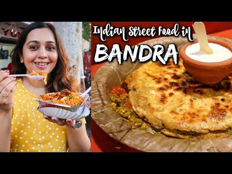 Favorite INDIAN STREET FOOD in Mumbai - Bandra | Parathas, Desi Chinese & more