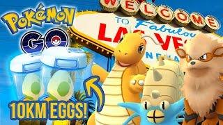 Pokemon Go - Rare Pokemon In Las Vegas! + 2 X 10km Eggs