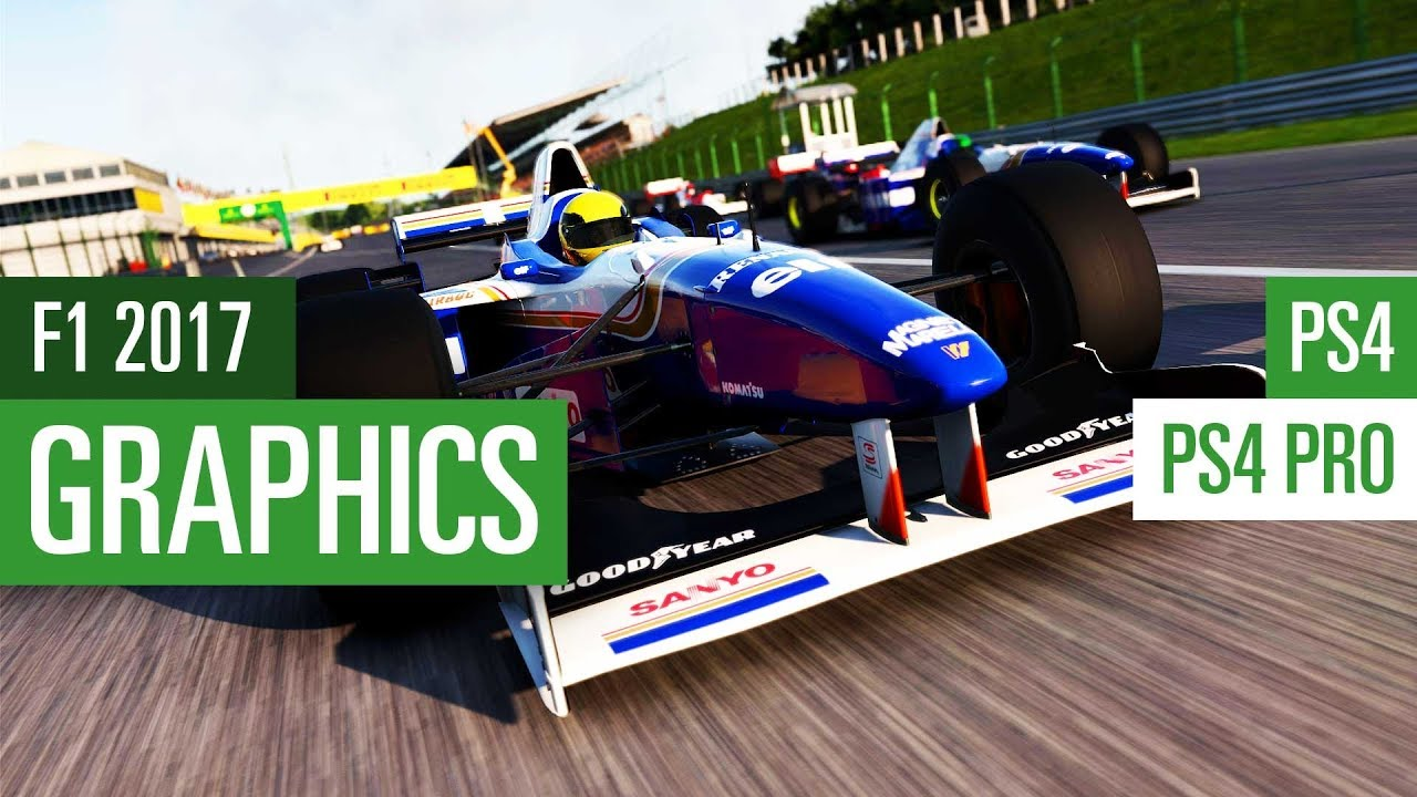f1 2017 ps4 vs ps4 pro grafikvergleich graphics comparison youtube. Black Bedroom Furniture Sets. Home Design Ideas