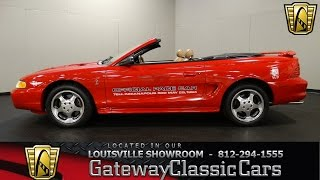 1994 Ford Mustang Cobra Indy Pace Car - Louisville Showroom - Stock # 1481