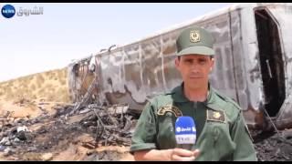 الأغواط: هلاك 33 شخصا وجرح 22 في حادث مرور مروع  بالأغواط