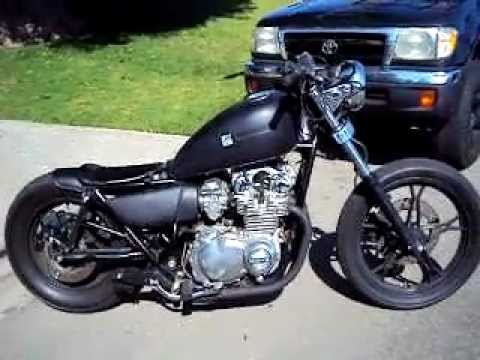 1982 Suzuki GS650 bobber / chopper - YouTube