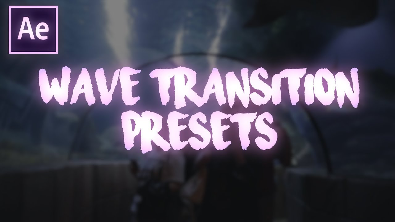 Free Wavy Transitions Pack #2 | After Effects CC17