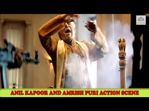 Anil kapoor Killed Amrish Puri Action...
