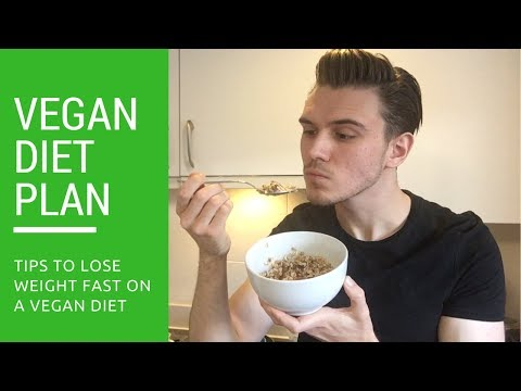 Vegan Diet Plan For FAST Weight Loss