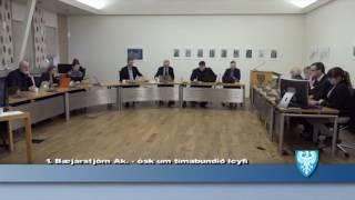 Fundur Bæjarstjórnar 3.janúar 2017