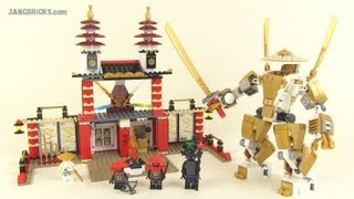 LEGO Ninjago set 70505: Temple of Light review!