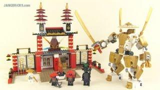 LEGO Ninjago set 70505: Temple of Light review!