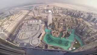 GoPro Video; Burj Khalifa,