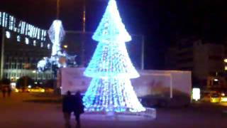 Tree of Lights in Taksim Istanbul