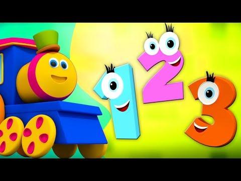 பாப் தி ரயில் | எண் பாடல் | நாற்றங்கால் ரைம்கள் | Learn Numbers In Tamil | Number Song | Bob Train