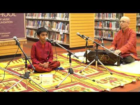 PJSOM Concert In Richmond Public Library 2017 -Aarian