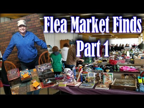 Flea Market Finds & Haul Paid $213.25 - Part 1 Searching Items to Resell & Haggling to get Bargains
