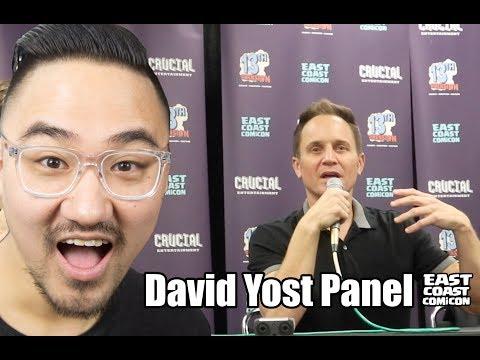 DAVID YOST PANEL East Coast Comic Con