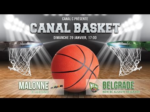 BC Malonne vs New BC Alsavin Belgrade
