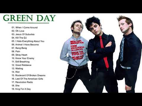 Green Day Greatest Hits Playlist - Best Songs Of Greenday - Collection 2018
