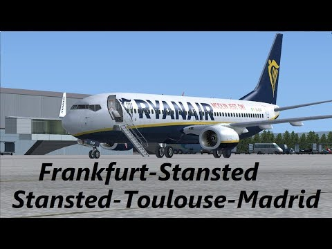 Ryanair Madrid Frankfurt