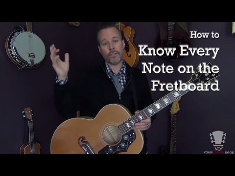 How to Know Every Note on the Fretboard – Steller Secret