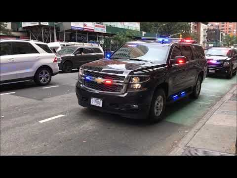 DAY 3 COMPILATION OF NYPD, USSS & DSS DURING 2017 U.N. GENERAL ASSEMBLY MEETINGS IN NYC.