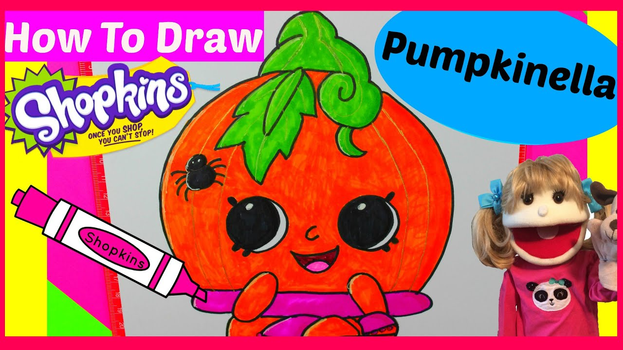how to draw shopkins season 1