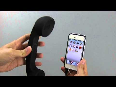 Reviewed- Native Union Pop Retro Phone Black Handset for iPhone iPad or Smartphones
