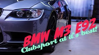 BMW M3 E92 Clubsport! The best Clubsport-Spec! | Laptime-Performance