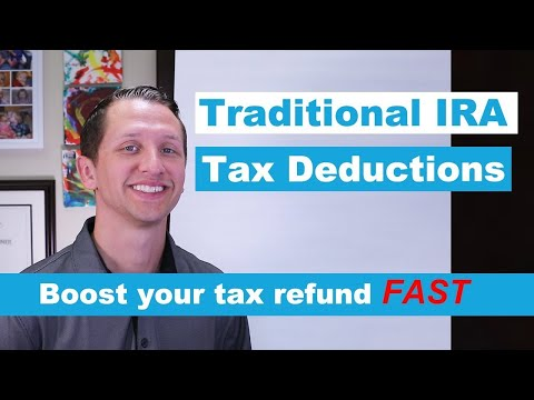 Traditional IRA Tax Deductions