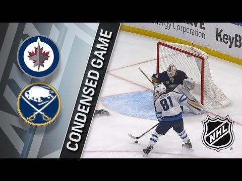 Winnipeg Jets vs Buffalo Sabres – Jan. 09, 2018 | Game Highlights | NHL 2017/18. Обзор матча