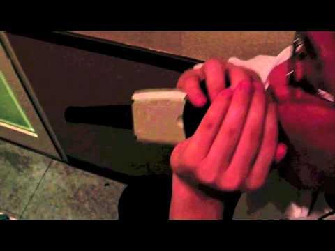 acid sound VS The mad businessman.in a karaoke box .