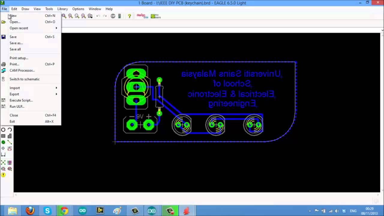 How To Duplicate Your Pcb Layout Design In Eagle Youtube