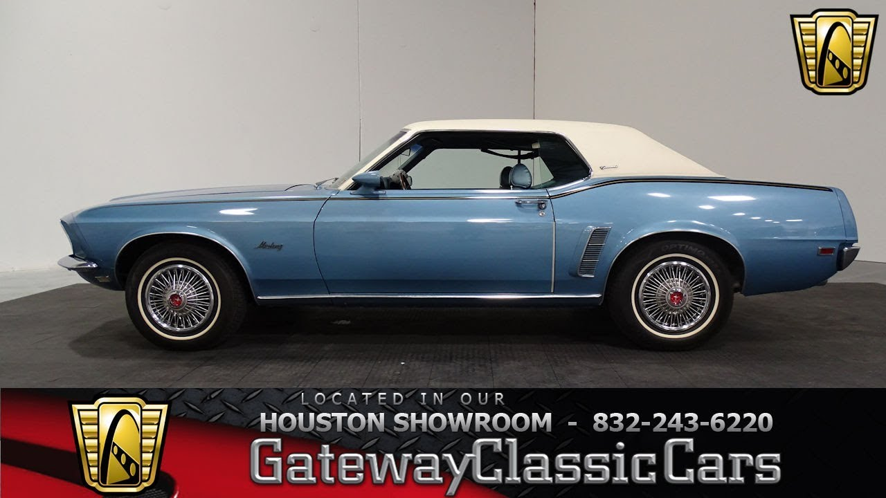 1969 ford mustang grande gateway classic cars 845 houston showroom
