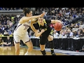 Highlights: Oregon women's basketball can't keep pace with UConn, falls in Elite 8
