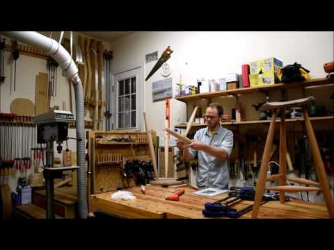 Build a Windsor Stool - Final Glue-Up