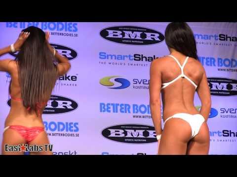 BMR Grand Prix Sweden 2013 - Bikini and Body Fitness - bikini over 163cm