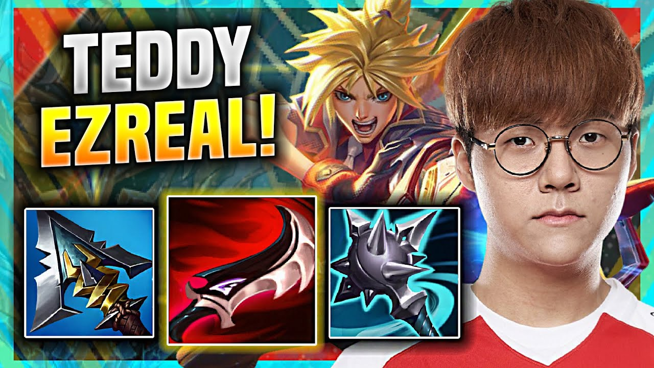 TEDDY IS A GOD WITH EZREAL! - T1 Teddy Plays Ezreal ADC vs Tristana! | KR SoloQ Patch 11.8