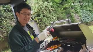 밴쿠버(Vancouver)형님댁 - 첫 바베큐