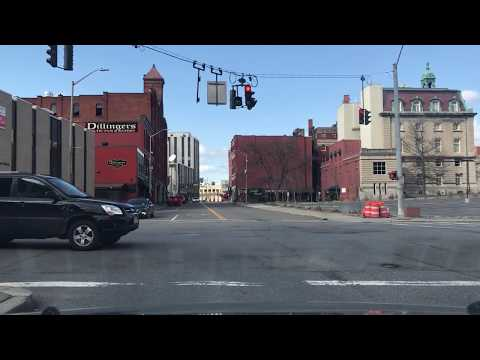 Driving Through Downtown binghamton