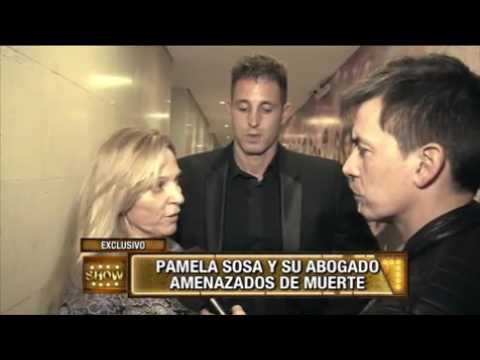 """Amenazaron de muerte Pamela Sosa: """"Vas a terminar en el Riachuelo con un tiro en la cabeza"""""""