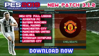 PATCH PES 2019 3.1.2 MU NoRoot