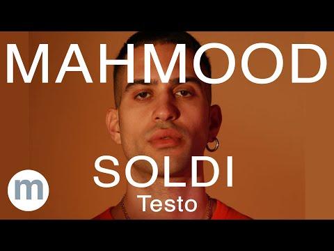 Mahmood  - Soldi (Testo e Musica) Prod  Dardust & Charlie Charles)