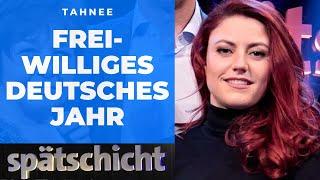 """Tahnee fordet das """"Freiwillige Deutsche Jahr"""""""