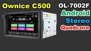 ✅ Ownice C500 OL-7002F Android 7 inch LCD car audio deck